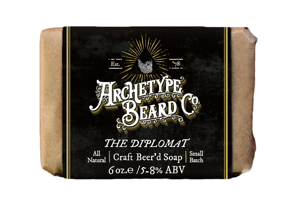 Archetype_Diplomat Craft Beerd Soap