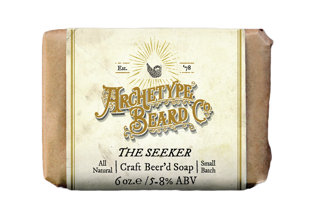Archetype_Seeker Craft Beerd Soap